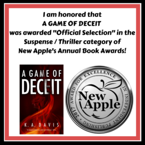 A Game of Deceit New Apple 2017 Awards Announcement